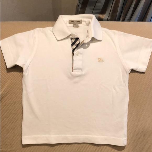 8bf61fed Burberry Shirts & Tops | Boys Polo | Poshmark